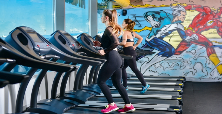 Renkli, dinamik, enerjik: FIT4EVER FITNESS CENTER